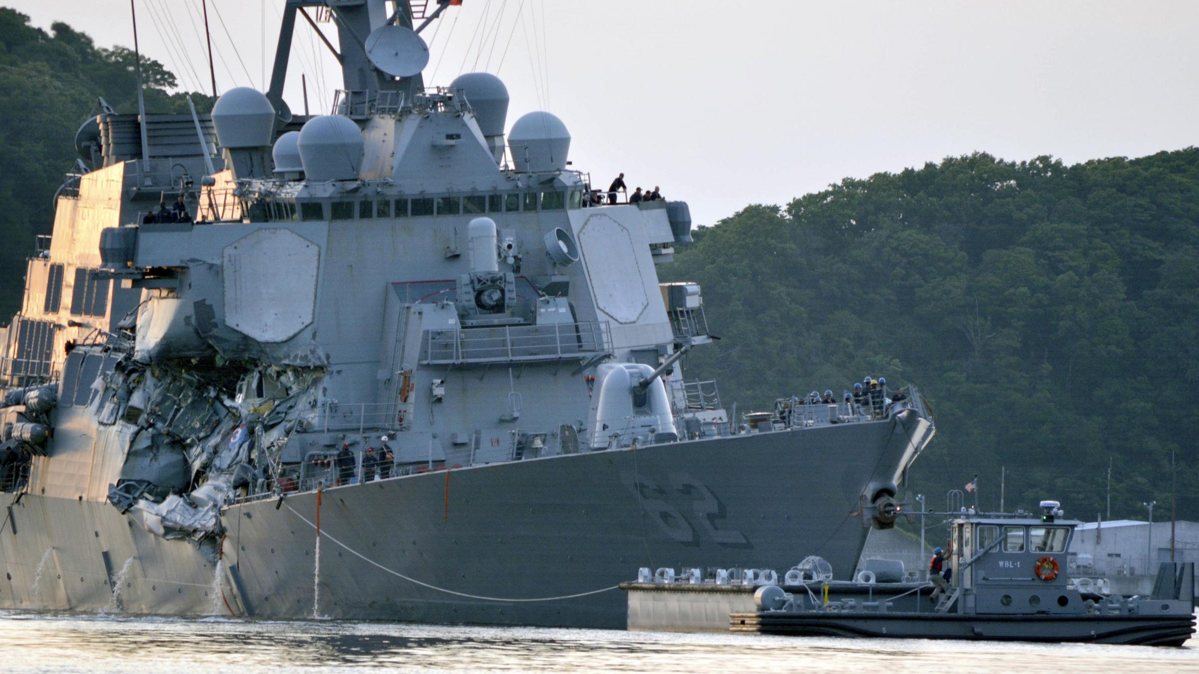 Navy identifies 7 victims from USS Fitzgerald